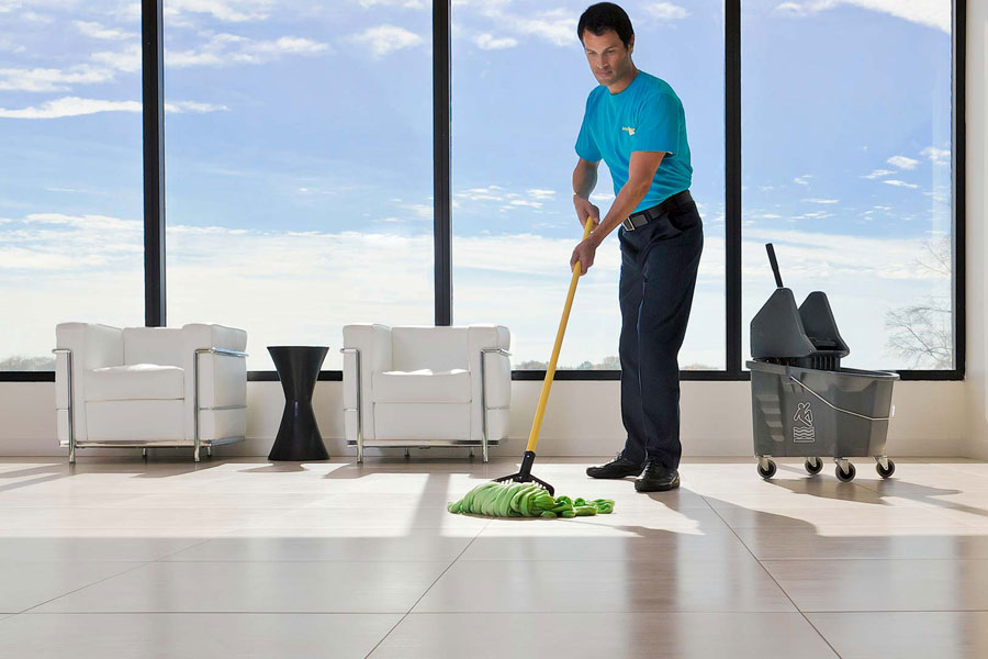 office or commercial cleaning services